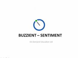 Buzzient Enterprise Sentiment Analysis and Siebel Workflow